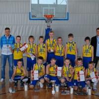 Kuldmedali võitnud BC Tarvas/Rakvere SK D-klassi meeskond