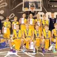 2013/2014 hooaja C-vanuseklassi Eesti Karikavõistlused võitnud BC Tarvas/Rakvere SK meeskond