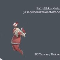 BC Tarvas/Rakvere SK jõulukaart